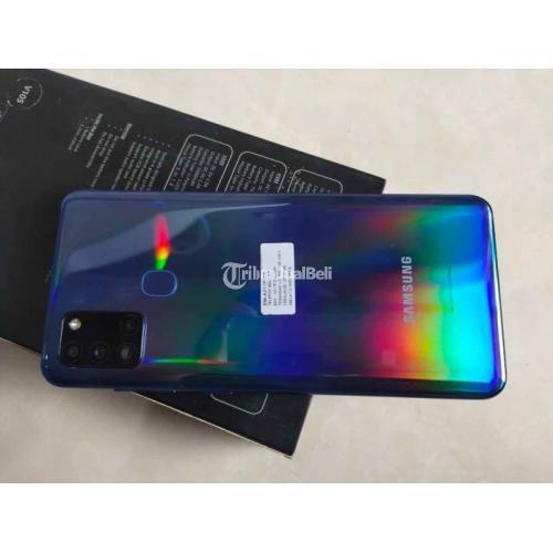 HP Samsung A21s Bekas Like New Fullset Mulus Nominus - Denpasar