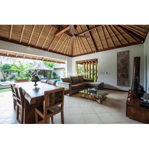 Disewakan Villa Umalas Lengkap Internet Keamanan Lokasi Dekat Seminyak - Badung