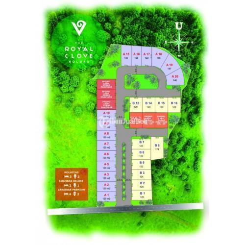 Dijual Rumah 2 Lantai Royal Clove Kolonel Mastruri - Cimahi