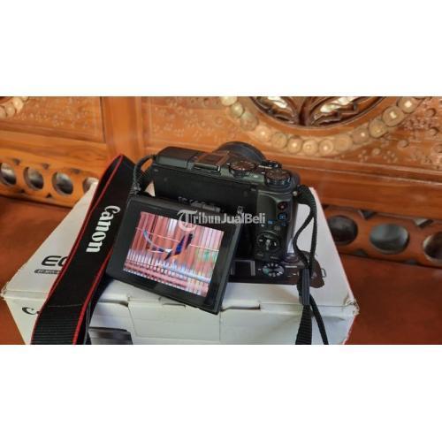 Kamera Mirrorless Canon EOS M3 Bekas Lengkap Normal Nominus - Sragen