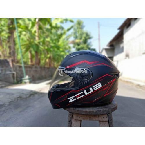 Helm Full Face ZEUS 811Size M Bekas Like New Visor 2 Bersih Original - Karanganyar