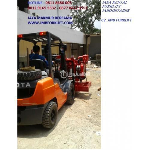 Jasa Rental Forklift Harian/Perentalan Kapasitas 2,5ton s/d 20ton di Cipete - Jakarta Selatan