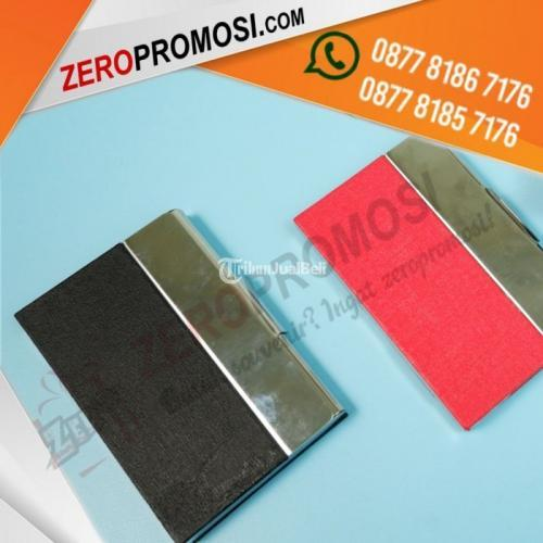 Tempat Kartu Nama - Card Holder KN-04 Harga Murah Bahan Stainless - Tangerang
