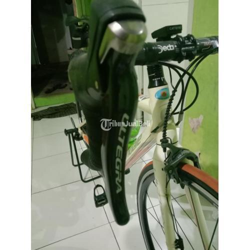Sepeda Road Bike Cannondale Synaps Ultra Alloy Size 48 Bekas Mulus - Purwokerto
