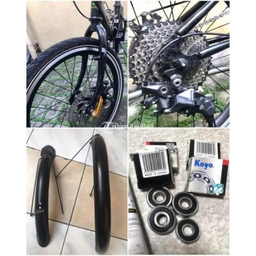 Sepeda Lipat Fold X Yokohama Bekas Full Orisinil Fungsi Normal Nego - Jakarta Selatan