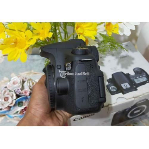 Kamera Canon 60D Body Only Fullset Bekas Fungsi Normal Bebas Jamur - Bogor