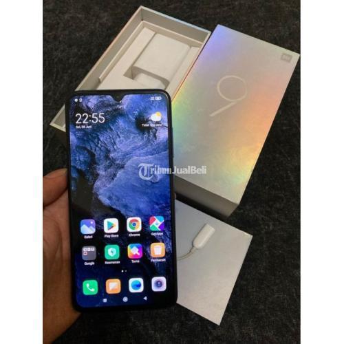 HP Xiaomi Mi 9 Ram 6/128GB Snapdragon 855 Bekas Like New Lengkap Ori - Makassar