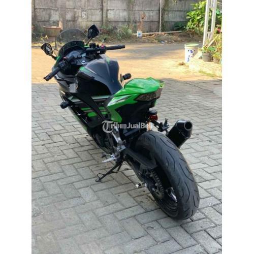 Motor Kawaskai Ninja 250 FI 2017 Bekas Tangan1 Mulus Low KM Harga Nego - Makassar