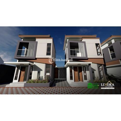 Dijual Rumah Baru Konsep Unik Lux, Comfort, Ergonomic and Compact Green HouseLixora Cluster Arcamanik - Bandung