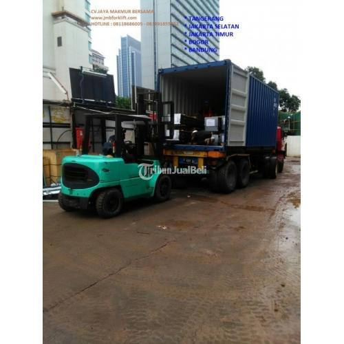 PENYEWAAN FORKLIFT PONDOK CABE / SEWA FORKLIFT HARIAN - Jakarta Selatan