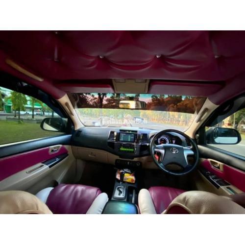 Mobil Toyota Fortuner Bekas Tahun 2014 VNT Turbo Matic Mulus Pajak Baru - Maros