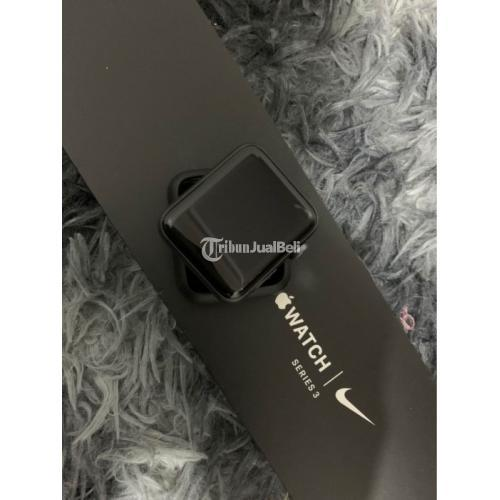 Smartwatch Apple Watch Series 3 Nike 42mm Bekas Like New Fullset - Pontianak