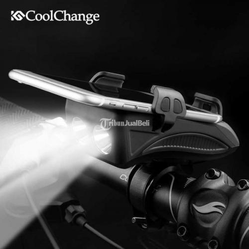 Lampu Sepeda 400 Lumens + Bel Klakson + Hol Bisa COD (Bayar di Rumah Lebih Aman) - Jakarta