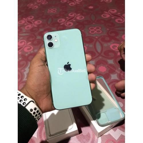 HP Apple iPhone 11 128GB Bekas Mulus Normal Siap Pakai Original - Pontianak