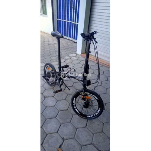Sepeda Lipat Pacific Flux 7.0 10 Speed Bekas Like New - Jogja