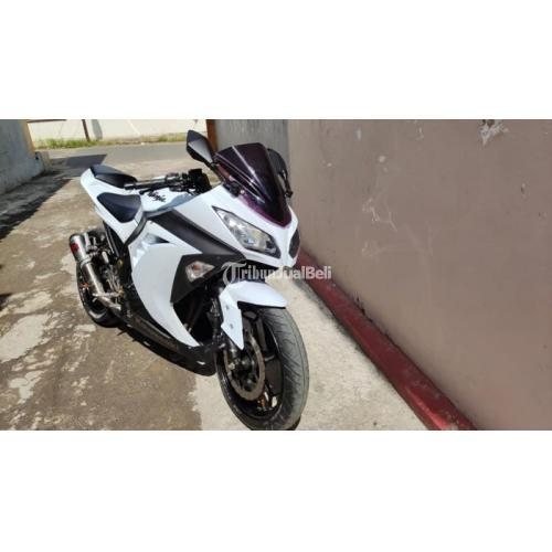 Motor Kawasaki Ninja 250 2014 Bekas Siap Pakai Mulus Pajak Baru - Bangkalan