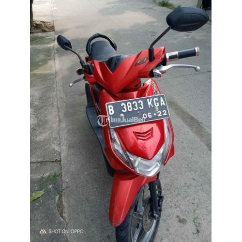 Motor Honda Beat 2012 Surat Lengkap Mesin Normal Bekas Harga Nego - Bekasi