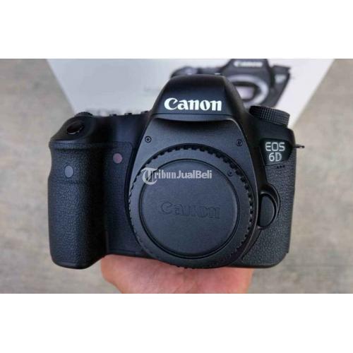 Kamera Canon 6D Body Only Bekas Fullset Kondisi Normal Bebas Jamur - Bogor