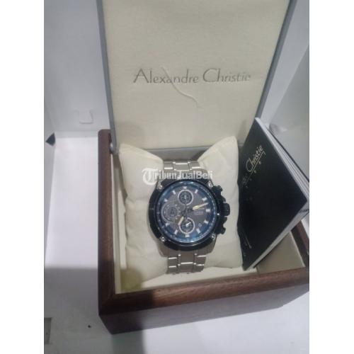 Jam Tangan Alexandre Christie AC6299MC Fullset Bekas Original - Bekasi