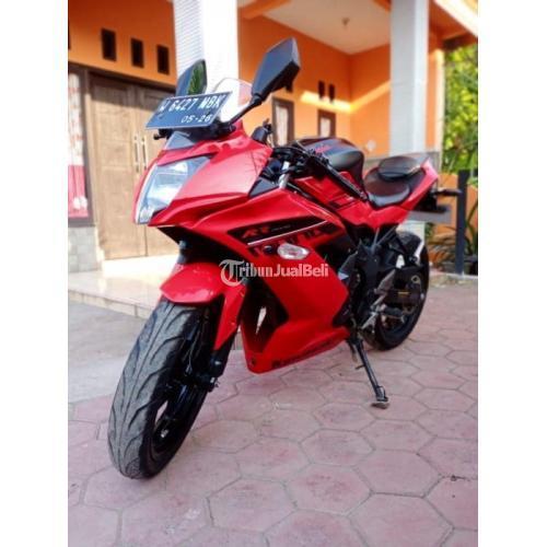 Motor Kawasaki Ninja 250 RR 2016 Surat Lengkap Plat Baru Bekas - Sidoarjo