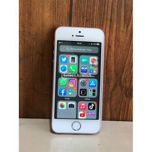 HP iPhone SE 64GB All Operator Bekas iCoud Kosong Bisa TT - Magelang