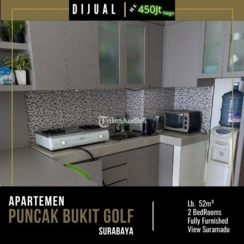 Dijual Apartemen Puncak Bukit Golf J.Rugi 2Bedrooms Furnished - Surabaya