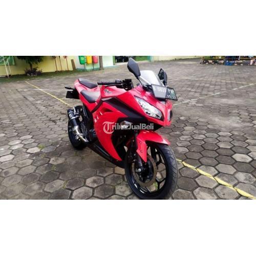 Motor Kawasaki Ninja 250 Fi 2014 Bekas Nominus Surat Lengkap Pajak Baru - Jakarta