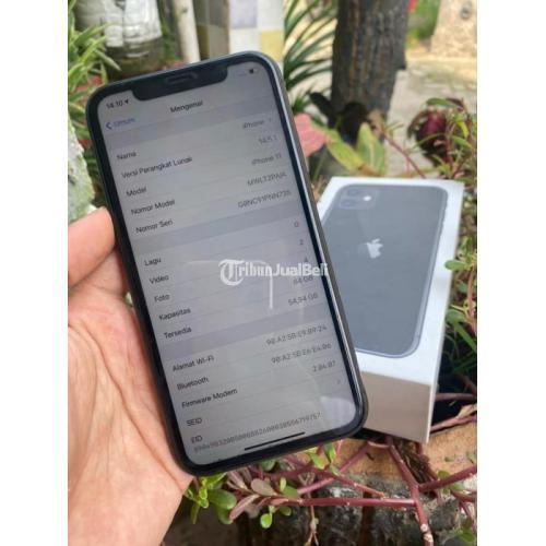 HP Apple iPhone 11 64GB Bekas iBox Fullset No HF Original Nominus - Tangerang