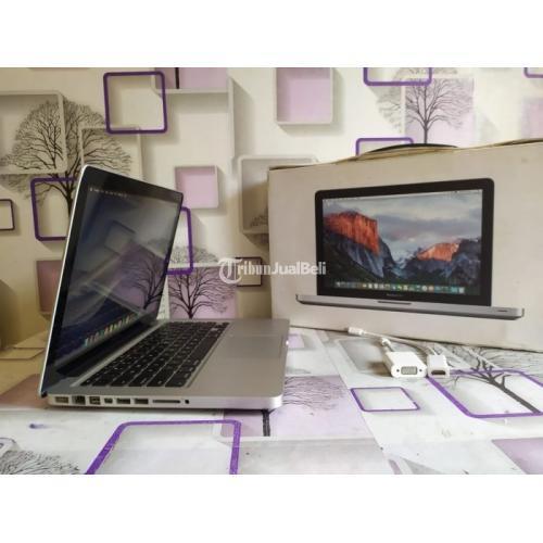 Laptop Macbook Pro 13 Mid 2012 Fullset Bekas Mulus Nominus Harga Nego - Depok
