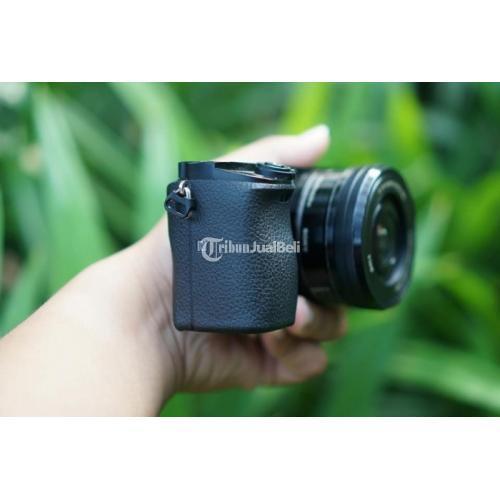 Kamera Mirrorless Sony A6000 16-50mm 35mm f1.8 Zhiyun Crane v1 Bekas Normal - Jogja