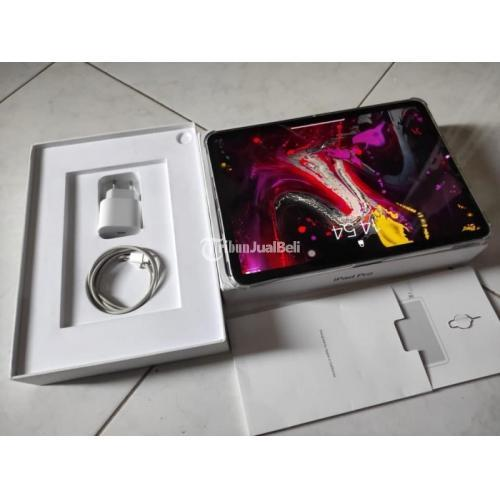 Tablet Apple iPad Pro 2018 64GB Bekas Mulus Fullset Normal Harga Nego - Jogja