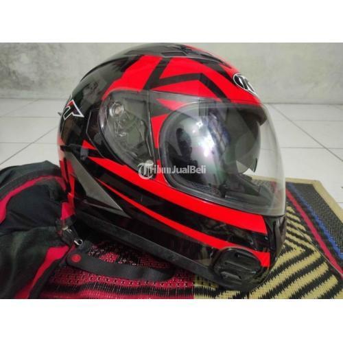 Helm KYT Vendetta 2 Red Size XL Bekas Bagus Jarang Pakai - Solo
