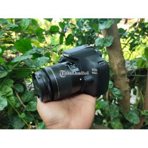 Kamera Canon 1200D Lensa Kit 18-55mm Bebas Jamur Bekas Normal - Tabanan