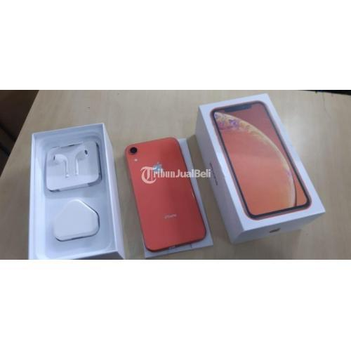 HP iPhone XR Inter 128GB Bekas Baterai 87% Kondisi Normal Mulus No Minus - Semar
