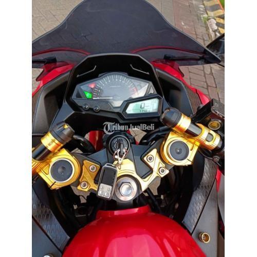 Motor awasaki Ninja 250 F1 2015 Merah Bekas Pajak Bartu Surat Lengkap - Sidoarjo