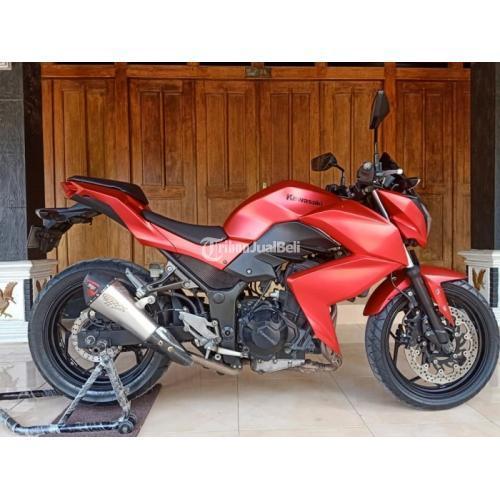 Motor Kawasaki Ninja Z250 2013 Bekas Mesin Segel Halus Surat Lengkap - Jogja
