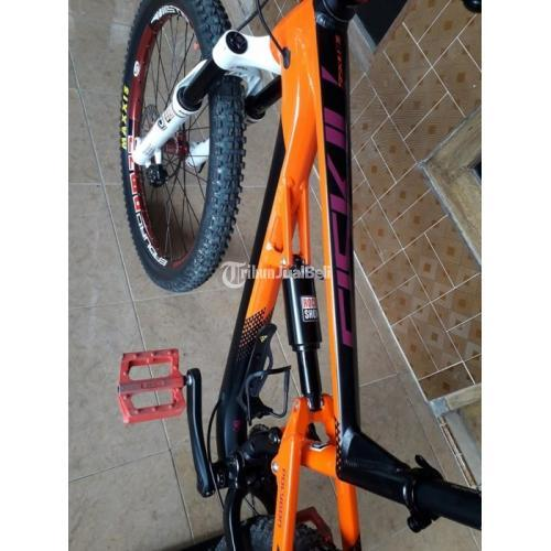 Sepeda MTB Siskiu D5 Full Upgrade size M 27.5 Bekas Kondisi Normal - Sragen