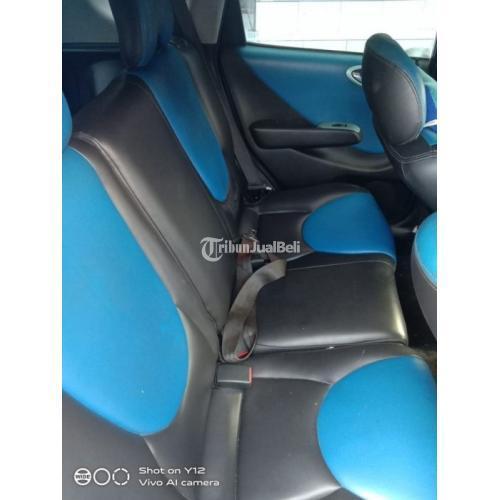 Mobil Honda Jazz Idsi 2004 AT Biru Metalik Bekas Cat Orisinil Harga Nego - Denpasar