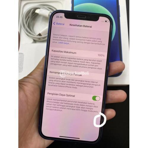 HP Apple iPhone 12 Mini 64GB Bekas iBox Normal Mulus Segel Lengkap - Jogja