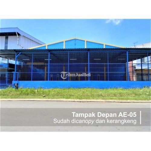 Sewa Gudang/Pabrik 792m2 SHM Harga Nego di Cikarang - Bekasi