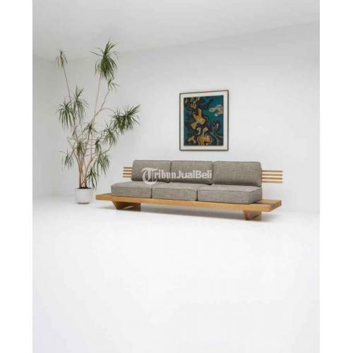 Sofa Santai Japanese Style Bahan Kayu Jati Busa Royal Foam Harga Murah - Jepara