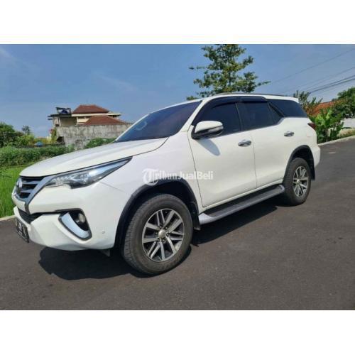 Mobil Toyota Fortuner FRZ Matic 2016 Surat Lengkap Body Mulus Bekas - Yogyakarta