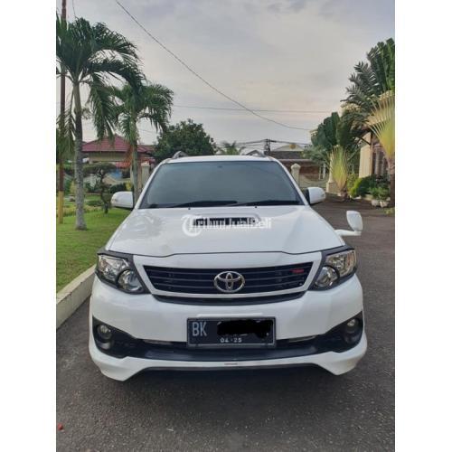 Mobil Toyota Fortuner Matic 2015 Bekas Terawat Mulus Pajak Panjang - Medan