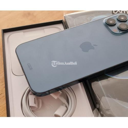 HP Apple iPhone 12 Promax 256GB Bekas iBox Mulus Like New Fullset - Pontianak