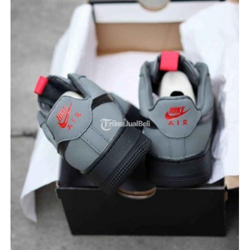 Sepatu Nike AF1 Dark Grey Baru BNIB Size 39-45 Harga Murah - Surabaya