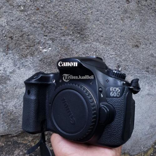 Kamera DSLR Canon 60D Semipro BO Bekas Normal Harga Nego - Surabaya