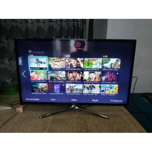 Samsung TV LED 40 inch Smart TV Youtube Konek Wifi Bekas Normal - Surabaya