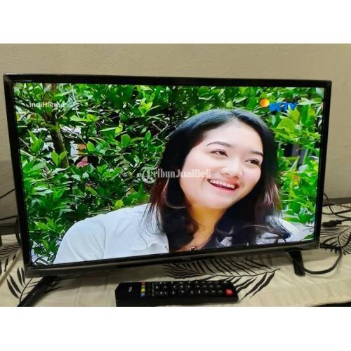 TCL LED TV 32inch Bekas Mulus Nominus Like New Harga Nego - Bandung