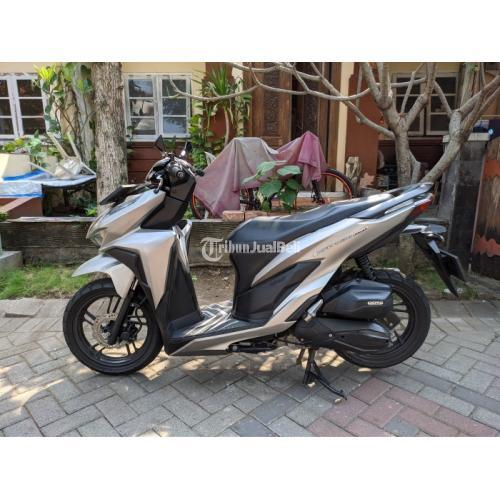 Honda Vario 150 cc 2018 Matte Silver / Abu-abu Pajak Panjang - Surabaya