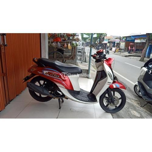 Motor Yamaha Fino125 ECO Blue Core 2016 Fi Bekas Mesin Halus Nego - Jakarta Timur